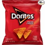 Doritos Nacho Cheese Flavored Tortilla Chips, 1 oz (Pack of 40) as low as $9.50!