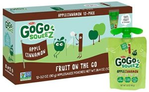 GoGo squeeZ Applesauce on the Go, 12 ct as low as $5.08 Shipped!