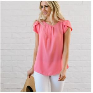 Lexi Blouse Tops was $38.99, NOW $16.99!