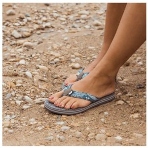MUK LUKS® Women's Emma Flip Flops was $28, NOW $10.99 Shipped!