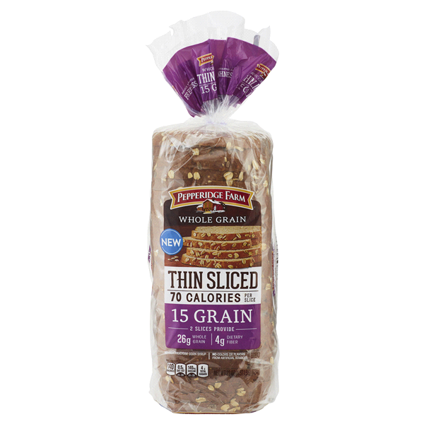 Pepperidge Farm Whole Grain Thin Sliced