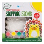 Paint Your Own Hedgehog Stepping Stone Only $7.99!
