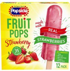 Meijer: Popsicle Fruit Pops 12 ct Only $1.25!