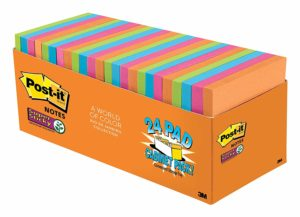 Post-it Super Sticky Notes, 24 pads Only $14!