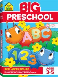 School Zone Big Preschool Workbook Only $4.77!