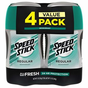 Speed Stick Deodorant for Men, 4 Pack as low as $5.08 Shipped!
