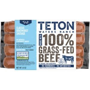 Meijer: Teton Waters Ranch Bratwurst Only $3.24!
