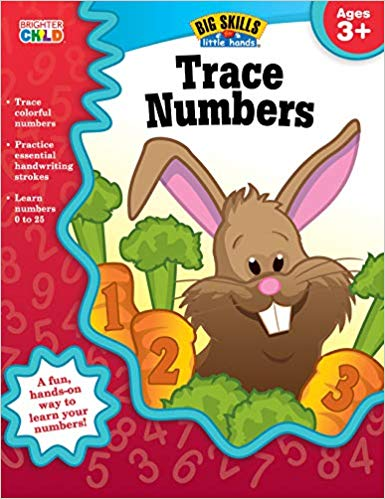 Trace Numbers Workbook