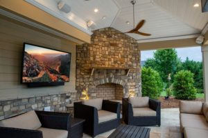 Watch TV Outdoors with The Veranda Series of SunBriteTVs!