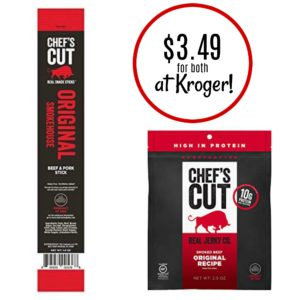 Kroger: Chef's Cut Jerky AND Stick Only $3.49!