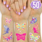 Butterfly Tattoos for Kids 50-Ct Pack Only $5.99!