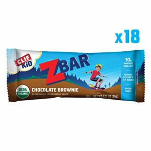 CLIF Kid ZBar, 18 count as low as $7.96 Shipped! ($0.44/bar)