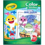 Crayola Baby Shark Color & Sticker Book Only $4.99!