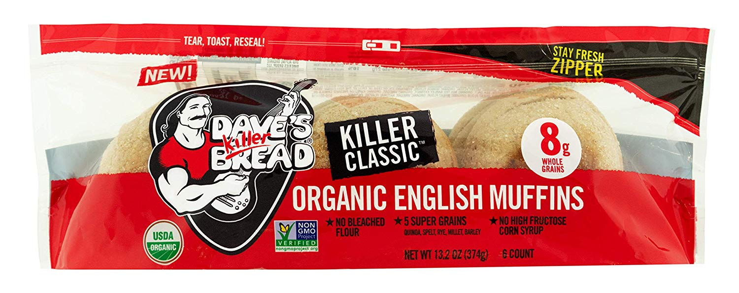 Kroger Dave S Killer Bread Organic English Muffins Only 0 99 Become A Coupon Queen