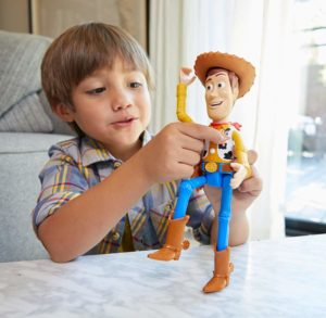 Disney Pixar Toy Story True Talkers Woody Figure Only $14.99!
