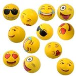 Beach Balls 12 Pack - Emoji or Rainbow as low as $8.24!
