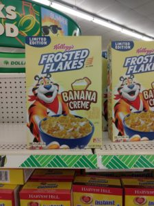 FREE Frosted Flakes Banana Creme at Dollar Tree!