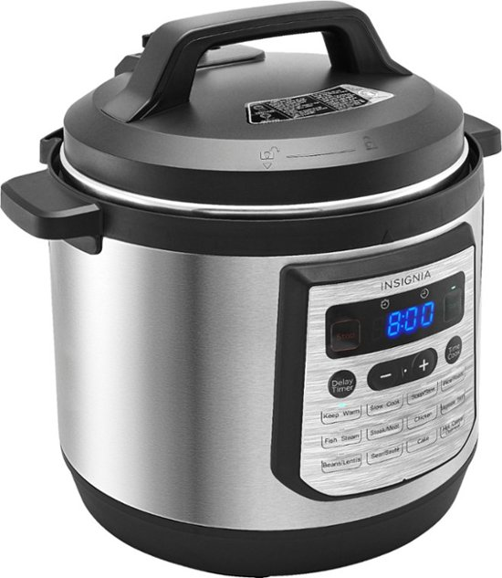 Insignia 8-Quart Multi-Function Pressure Cooker – $39.99 – Today Only!!