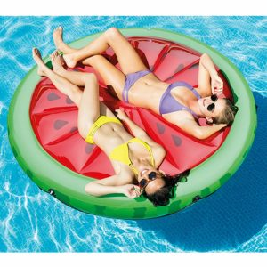 Intex Watermelon Inflatable Island – $17.75!