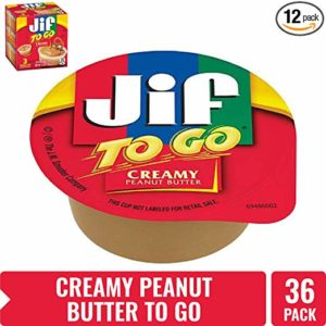 Jif To Go Creamy Peanut Butter, 36 Cups as low as $6.78 Shipped!