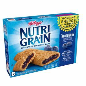 Kellogg's Nutri-Grain Bars, 8 count as low as $0.75!