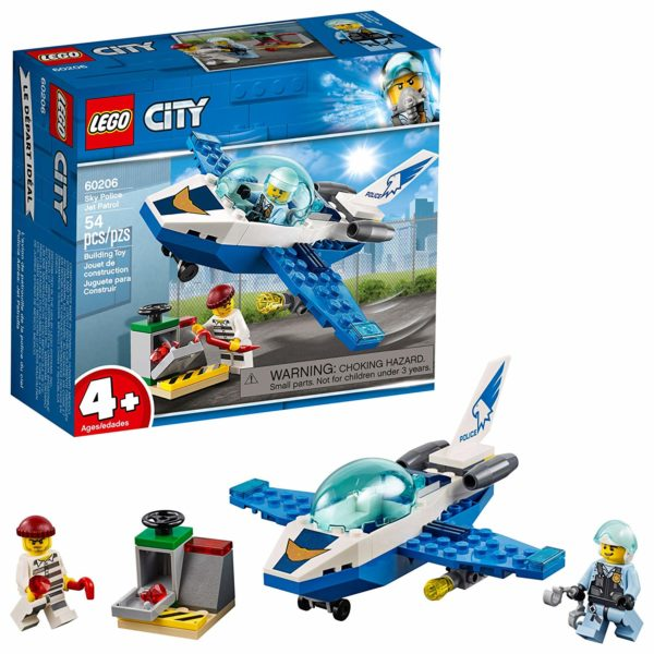 LEGO City Sky Police Jet Patrol Building Kit