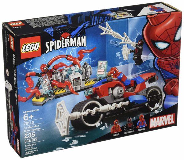 LEGO Marvel Spider-Man Bike Rescue Building Kit