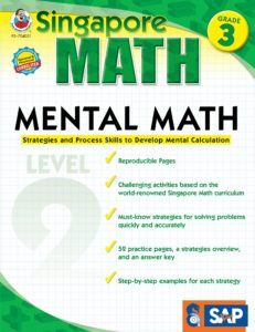 Mental Math Level 2 Workbook for 3rd Grade Only $3.56!