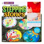 Mix & Mold Your Own Stepping Stones Kit Only $9.97!