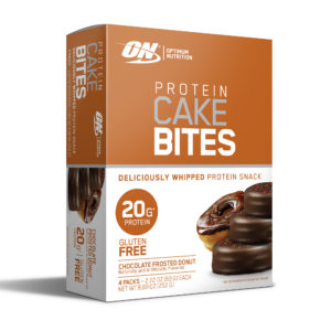 Walmart: Optimum Nutrition Protein Cake Bites, 4 count Only $2.97!