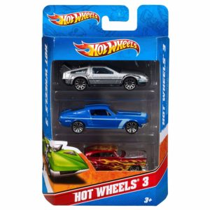 Pack of 3 Hot Wheels Cars Only $3.43!