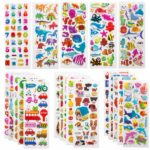 Pack of 500 Puffy Stickers Only $6.99!