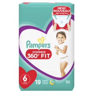 Meijer: Pampers Cruisers 360 Bags Only $4.99!