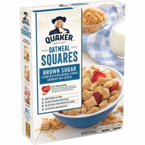 Quaker Oatmeal Squares Cereal as low as $1.19!