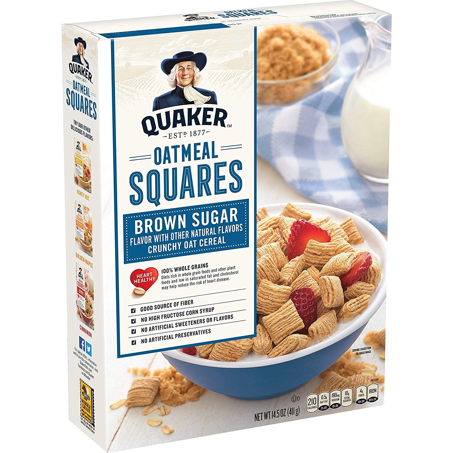 Quaker Oatmeal Squares Cereal As Low As $1.39!
