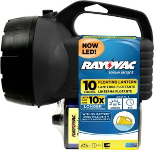 RAYOVAC 6V 10-LED Floating Lantern Battery Only $4.92!