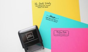 Self-Inking Address Stamp Under $8 Shipped! Perfect Gift!