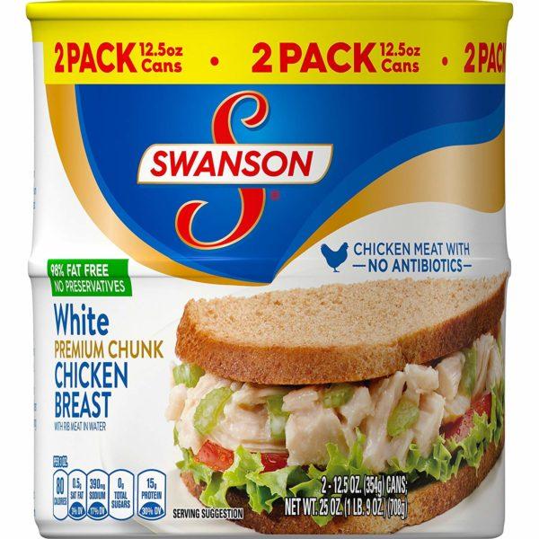 Swanson Premium White Chunk Chicken Breast