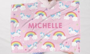 Personalized Baby Blanket Only $16.99!