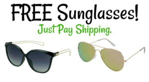 FREE Sunglasses – 12 Styles! Just Pay Shipping!