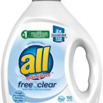 all Liquid Laundry Detergent Free Clear for Sensitive Skin, 110 Loads as low as $11.84!!