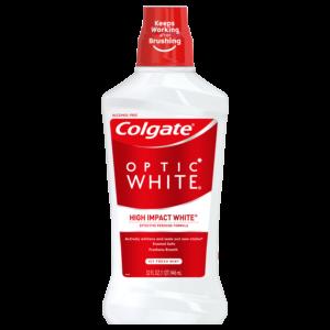 Walmart: Colgate Optic White Mouthwash, 32 oz Only $1.88!