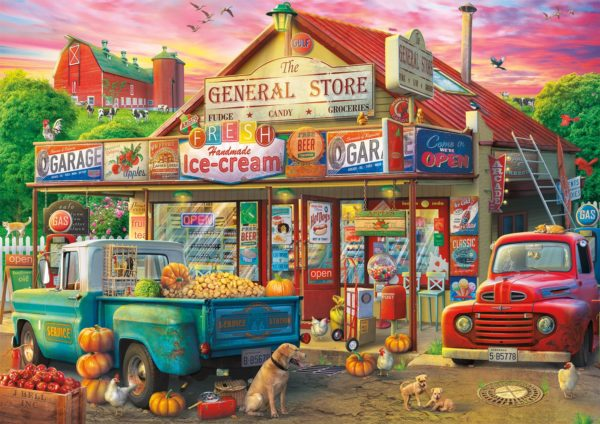 Country Store 500 Piece Jigsaw Puzzle