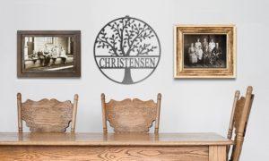 Custom Family Tree Monograms Only $13!!