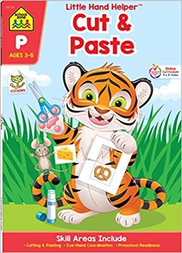 Cut & Paste Skills Workbook