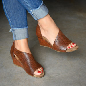 Cutout Wedges – Was $69.99 – Now $39.99 + Free Shipping!
