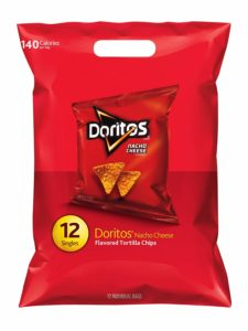 Doritos Nacho Cheese Flavored Tortilla Chips, 12 Singles as low as $2.19!