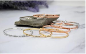 Engraved Beach Vibes Stacking Bracelets Only $6.99!