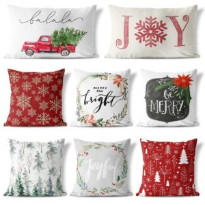 Farmhouse Christmas Pillow Collection Only $5.99!