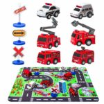 Fire Truck Toys with Play Mat Only $9.99 (Reg. $17)!